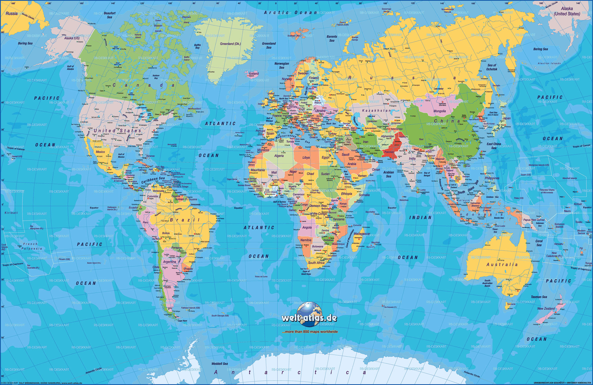 Mapa del Mundo Mapa Mundi  Blog de Viajes