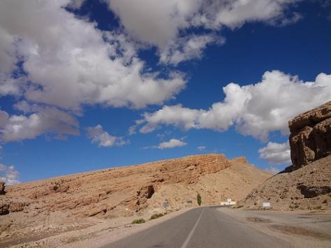 Estrada Fes-Ouarzazate Marrocos