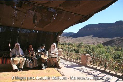 Oásis de Fint em Ouarzazate